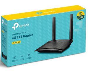 เราเตอร์ใส่ซิม TP-LINK 3G/4G รุ่น TL-MR100 1,700 บ. รับประกันในไทย